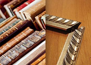 riparazioni libri e cornici